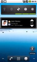 4x1 home widget