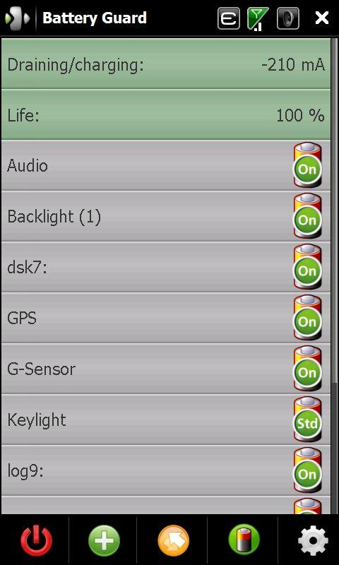 Wydłużenie pracy baterii w HTC